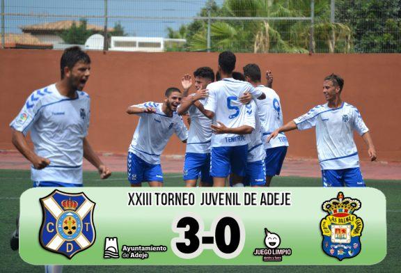 El CD Tenerife, nuevo campeón del Torneo Juvenil Villa de Adeje