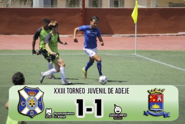 El CD Tenerife, primer finalista del Torneo Juvenil de Adeje