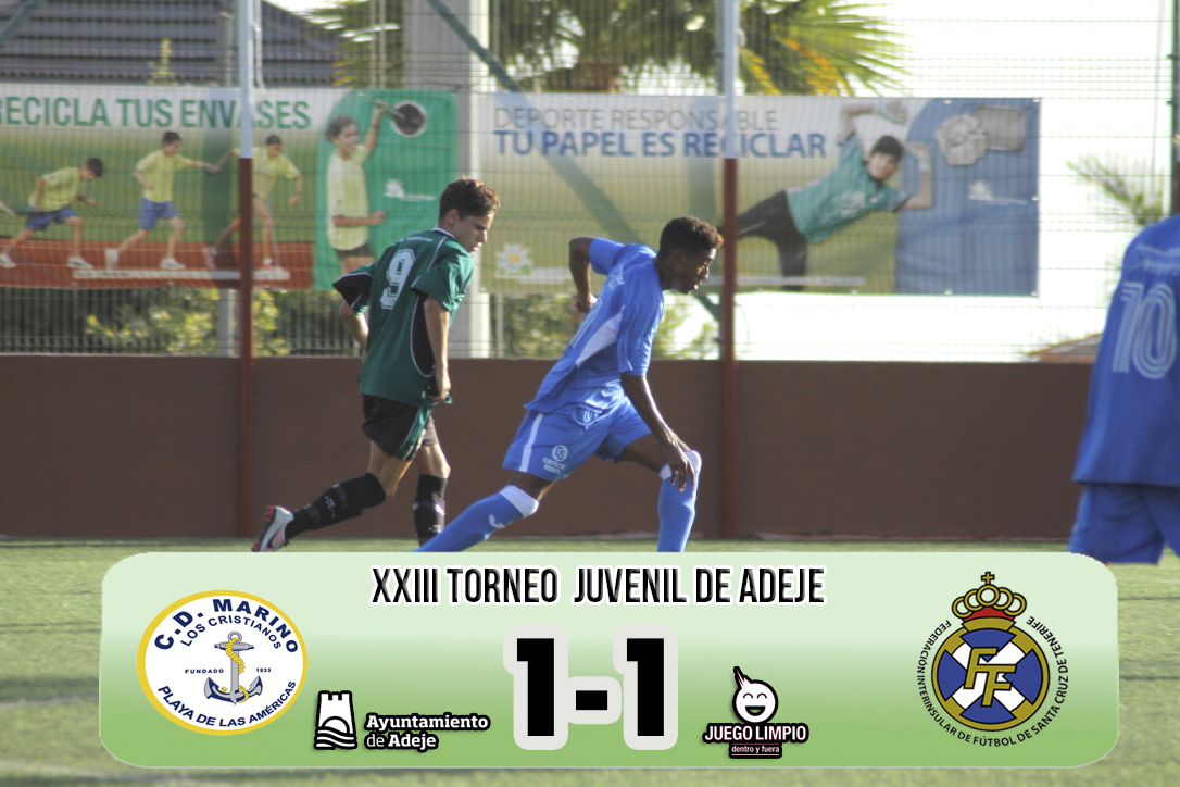 Empate 'in extremis' del Marino ante la Selección Tenerife Sur