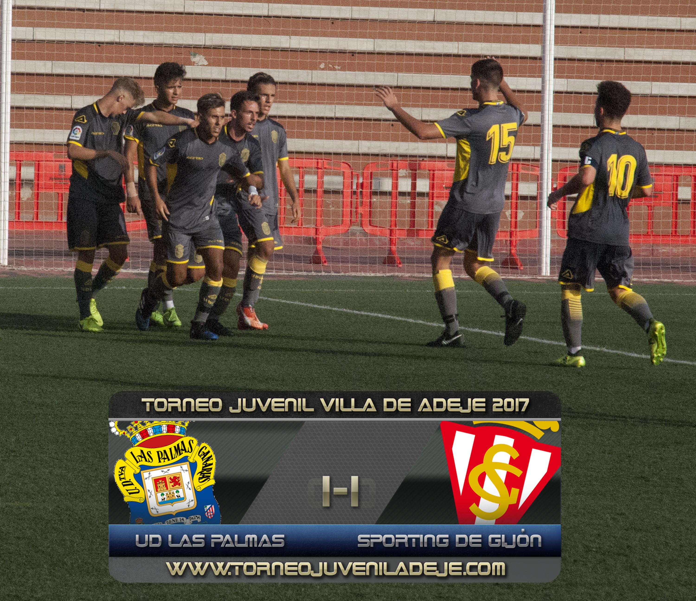 La UD Las Palmas, tercer clasificado