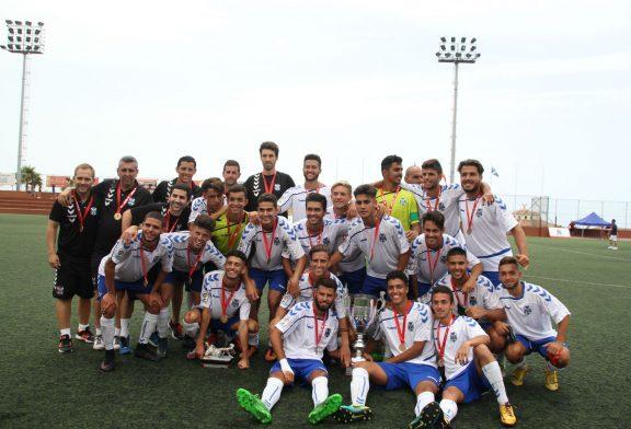 Las Palmas, Celta y Sporting, principales rivales del CD Tenerife para revalidar el Torneo de Fútbol Villa de Adeje juvenil