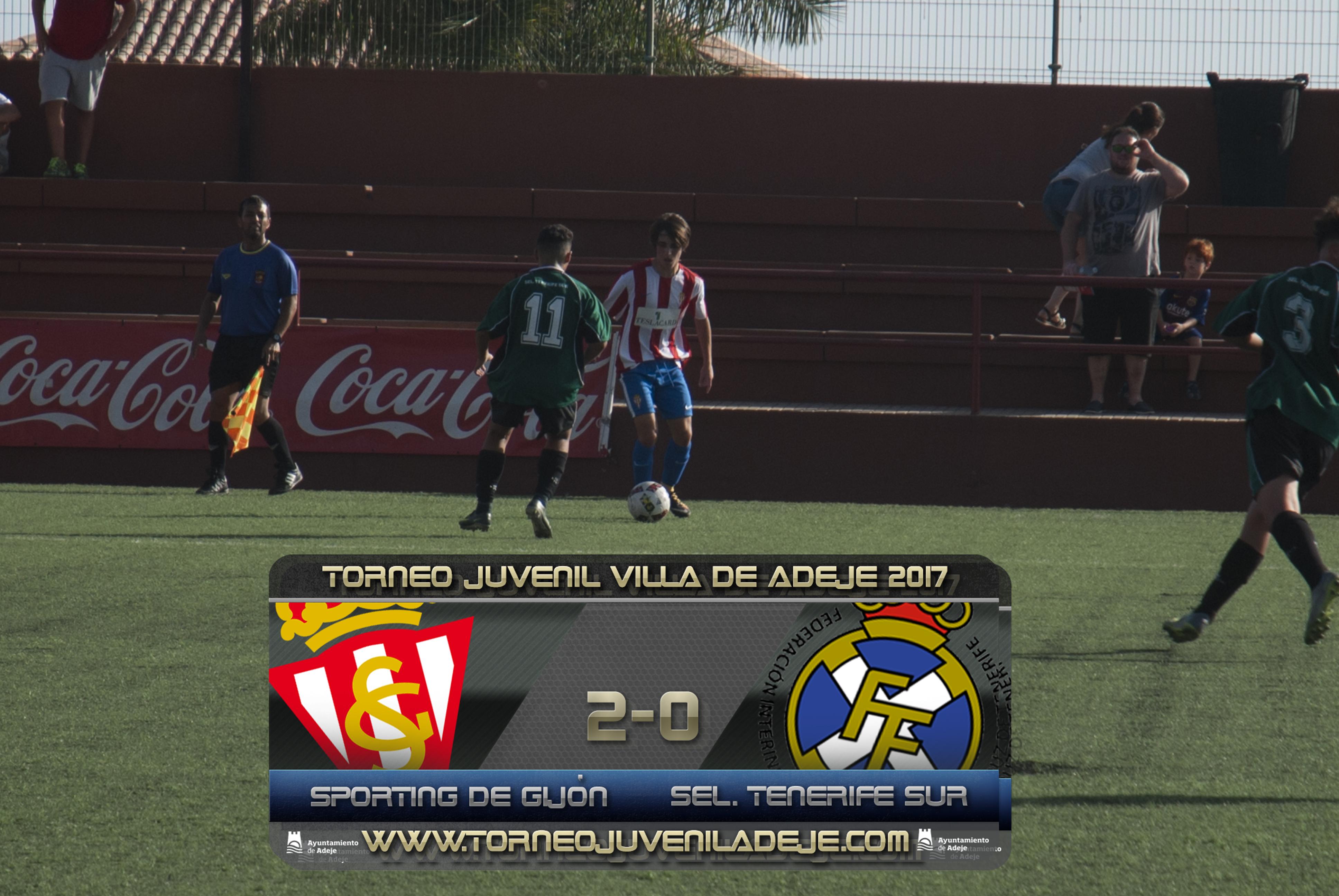 El Sporting de Gijón cumple los pronósticos ante la Selección Tenerife Sur