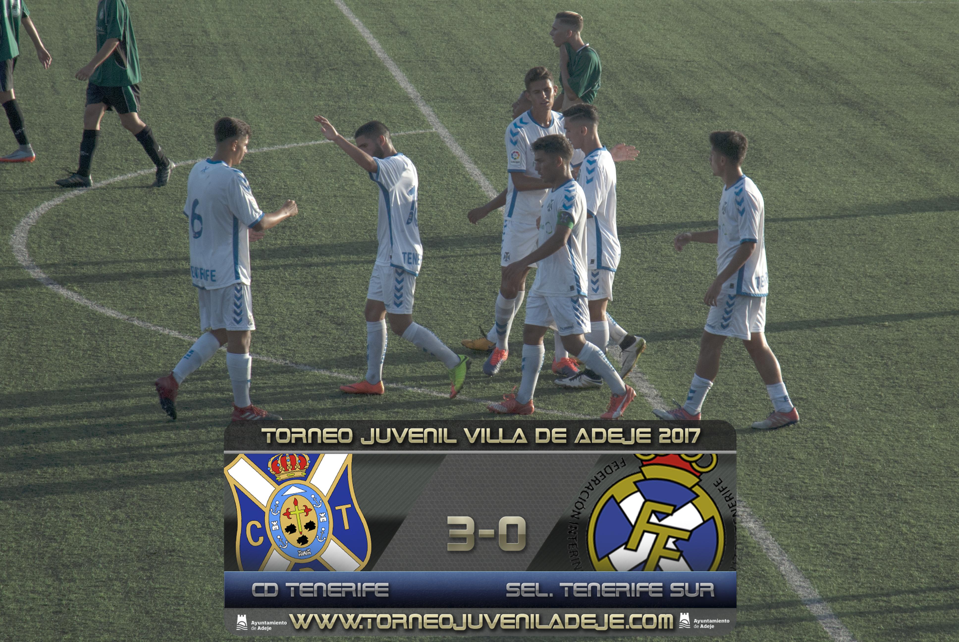 El CD Tenerife, primer finalista del XXIV Torneo Juvenil de Adeje