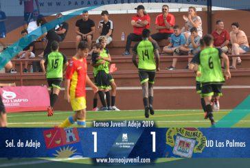 La UD Las Palmas, primer finalista