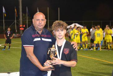 Mario Soriano, elegido mejor jugador del Torneo