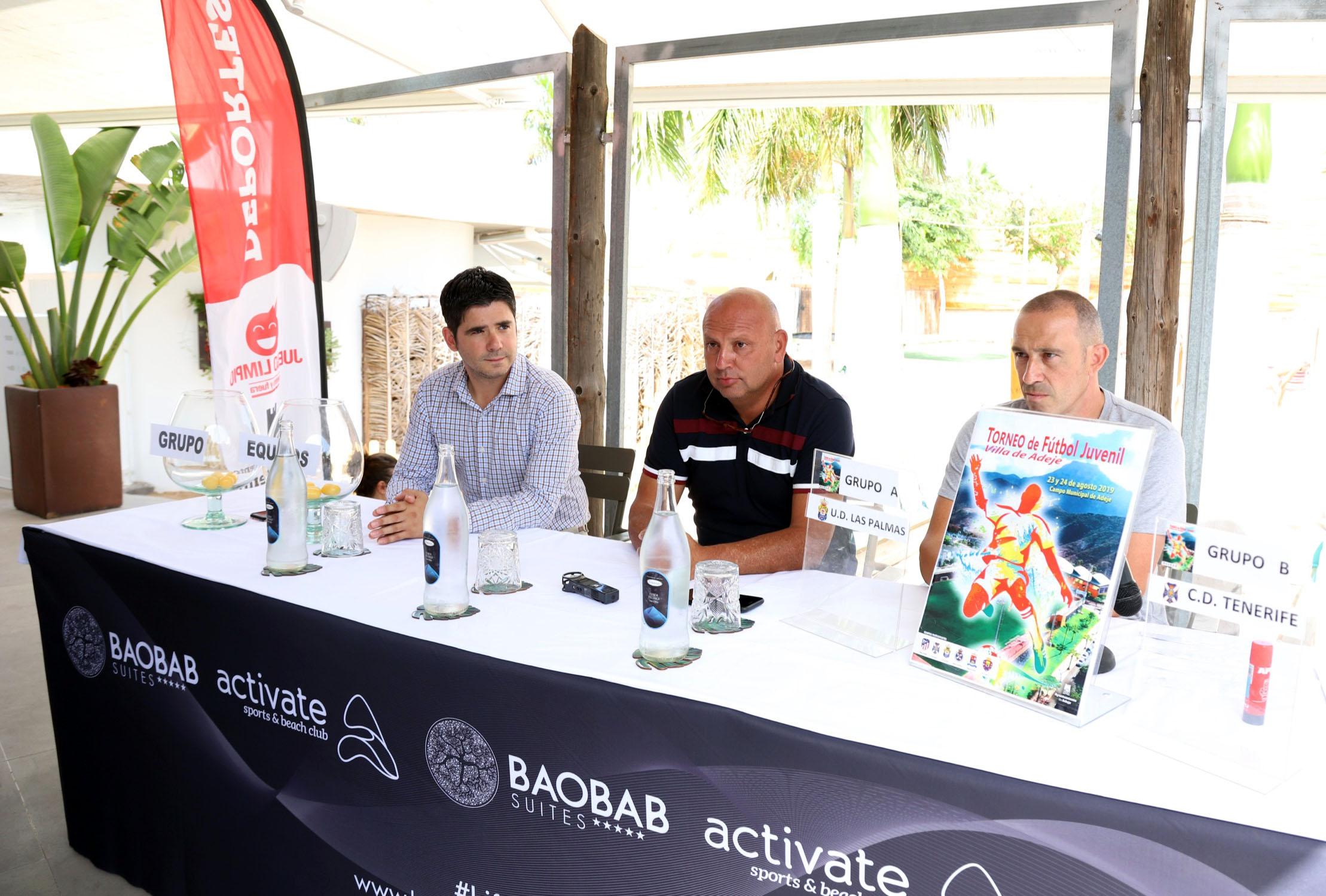 El XXVI Torneo Juvenil Villa de Adeje se celebrará el 23 y 24 de agosto